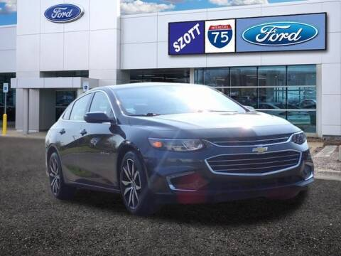 2017 Chevrolet Malibu for sale at Szott Ford in Holly MI