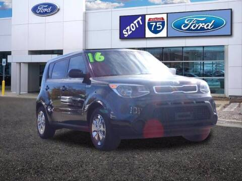 2016 Kia Soul for sale at Szott Ford in Holly MI