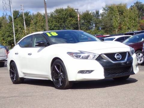 2018 Nissan Maxima for sale at Szott Ford in Holly MI