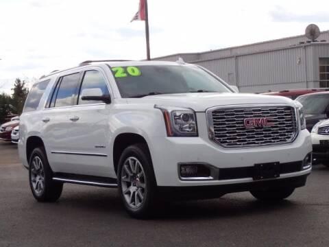 2020 GMC Yukon for sale at Szott Ford in Holly MI