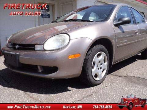 2000 Dodge Neon Highline for sale at Fire Truck Auto Sales in Ham Lake MN