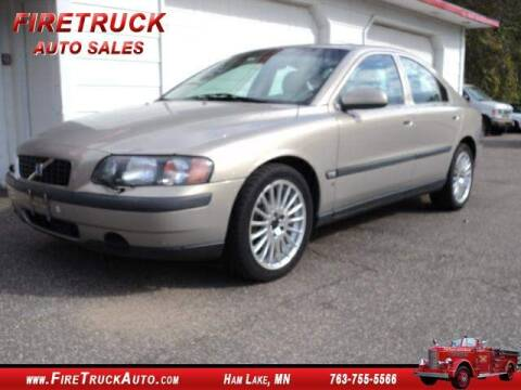 2001 Volvo S60 2.4T for sale at Fire Truck Auto Sales in Ham Lake MN