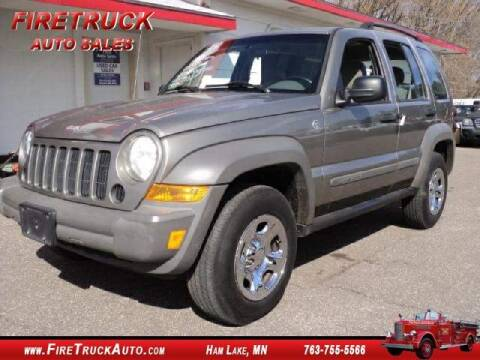 2007 Jeep Liberty Sport for sale at Fire Truck Auto Sales in Ham Lake MN