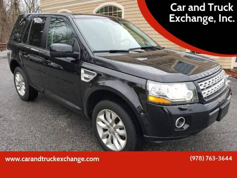 2014 Land Rover LR2 for sale at Car and Truck Exchange, Inc. in Rowley MA