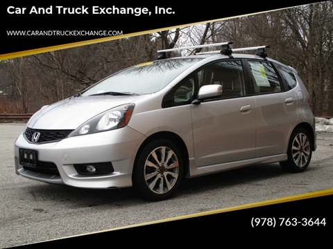 2012 Honda Fit for sale at Car and Truck Exchange, Inc. in Rowley MA