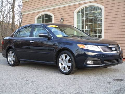 2009 Kia Optima for sale at Car and Truck Exchange, Inc. in Rowley MA