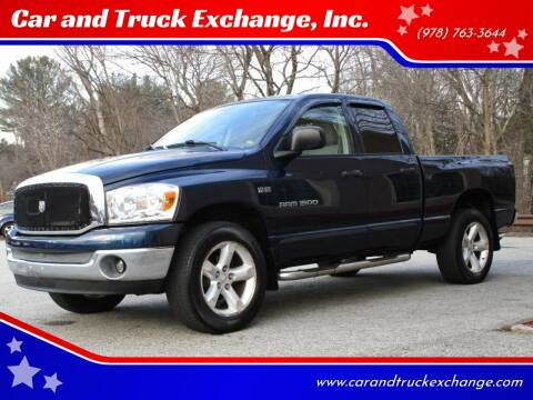 2007 Dodge Ram Pickup 1500 for sale at Car and Truck Exchange, Inc. in Rowley MA