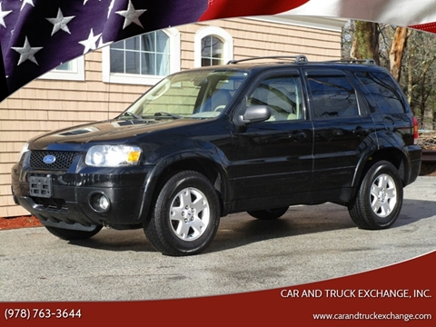 2006 Ford Escape for sale at Car and Truck Exchange, Inc. in Rowley MA