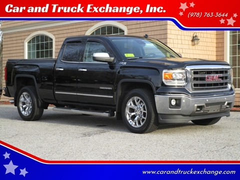 2014 GMC Sierra 1500 for sale at Car and Truck Exchange, Inc. in Rowley MA