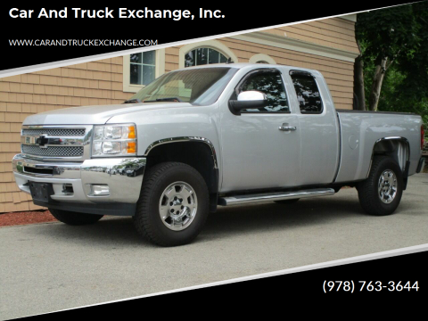 2013 Chevrolet Silverado 1500 for sale at Car and Truck Exchange, Inc. in Rowley MA