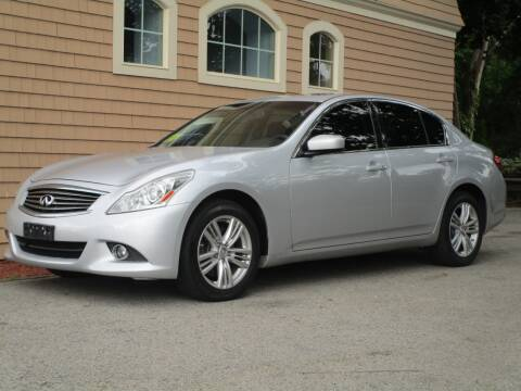 2013 Infiniti G37 Sedan for sale at Car and Truck Exchange, Inc. in Rowley MA
