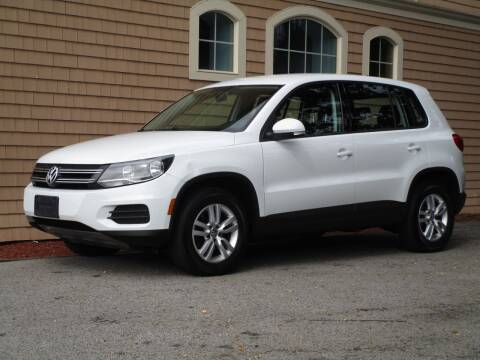 2014 Volkswagen Tiguan for sale at Car and Truck Exchange, Inc. in Rowley MA