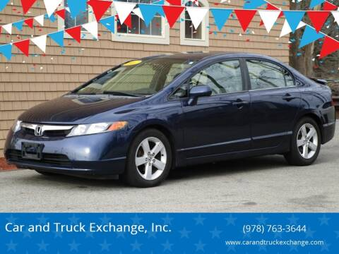 2007 Honda Civic for sale at Car and Truck Exchange, Inc. in Rowley MA
