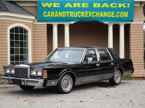 1989 Lincoln Town Car for sale at Car and Truck Exchange, Inc. in Rowley MA