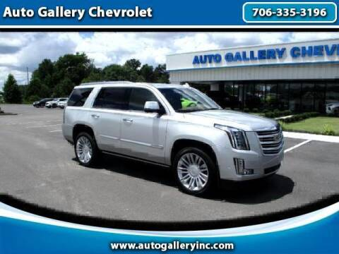 2017 Cadillac Escalade for sale at Auto Gallery Chevrolet in Commerce GA