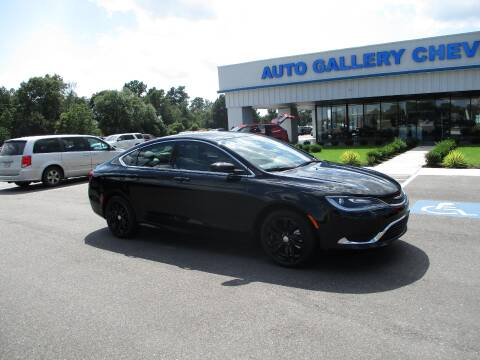 2016 Chrysler 200 for sale at Auto Gallery Chevrolet in Commerce GA