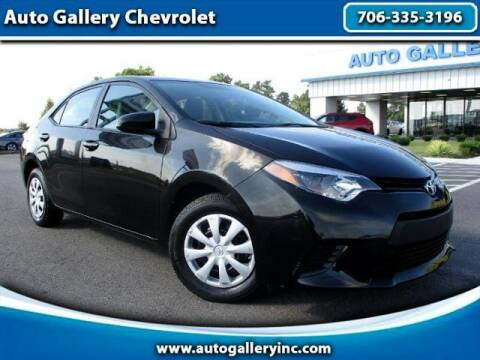 2014 Toyota Corolla for sale at Auto Gallery Chevrolet in Commerce GA
