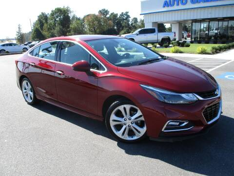 2016 Chevrolet Cruze for sale at Auto Gallery Chevrolet in Commerce GA