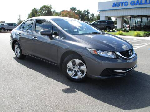 2014 Honda Civic for sale at Auto Gallery Chevrolet in Commerce GA