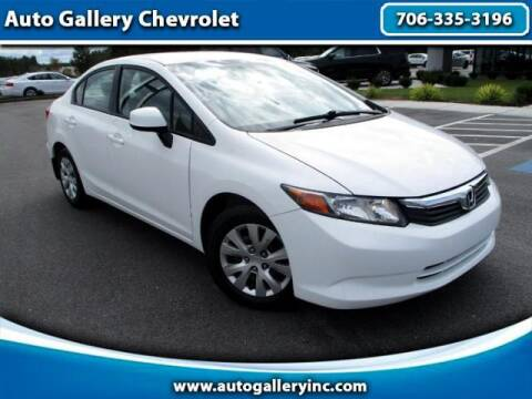 2012 Honda Civic for sale at Auto Gallery Chevrolet in Commerce GA