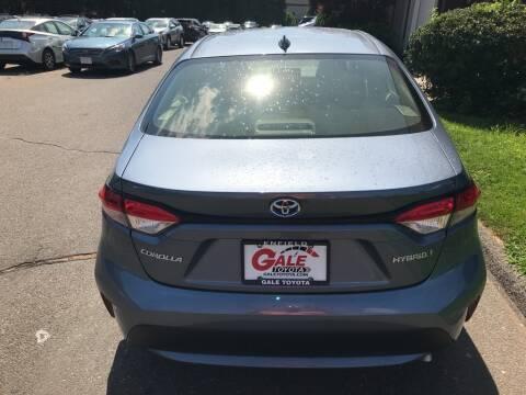 2021 Toyota Corolla Hybrid