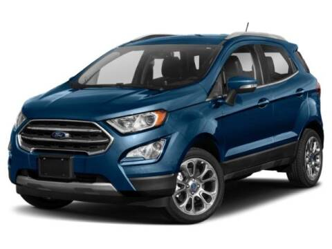 2018 Ford EcoSport Titanium for sale at FUCCILLO FORD-EAST OF GREENBUSS in East Greenbush NY