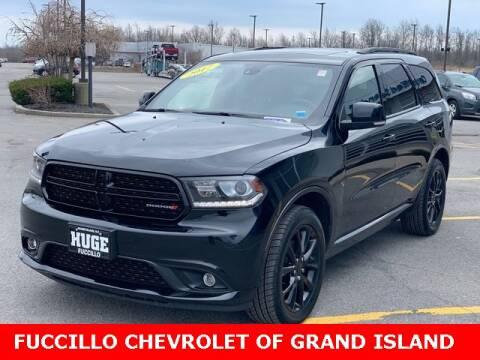 2017 Dodge Durango GT for sale at Fuccillo Chevrolet of Grand Island in Grand Island NY