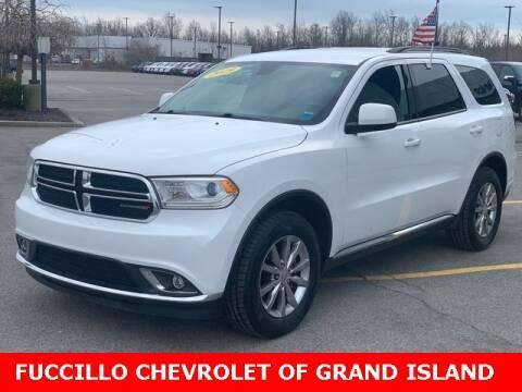 2017 Dodge Durango SXT for sale at Fuccillo Chevrolet of Grand Island in Grand Island NY