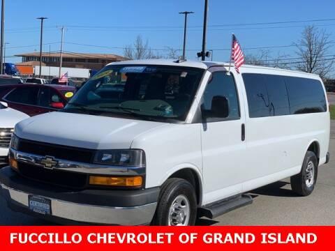 2019 Chevrolet Express Passenger LT 3500 for sale at Fuccillo Chevrolet of Grand Island in Grand Island NY