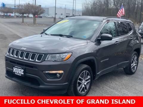 2018 Jeep Compass for sale at Fuccillo Chevrolet of Grand Island in Grand Island NY