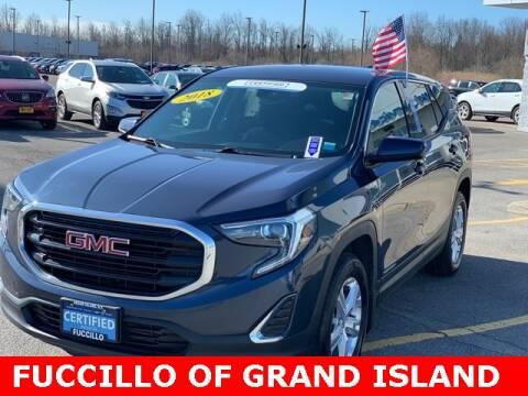 2018 GMC Terrain SLE for sale at Fuccillo Chevrolet of Grand Island in Grand Island NY