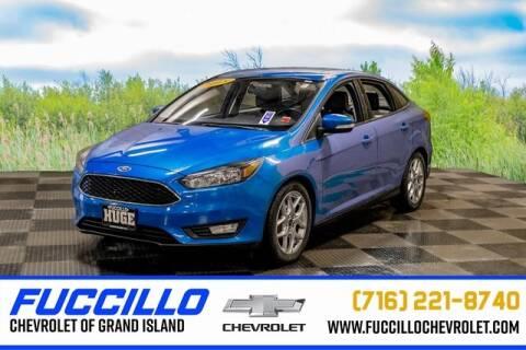 2015 Ford Focus SE for sale at Fuccillo Chevrolet of Grand Island in Grand Island NY