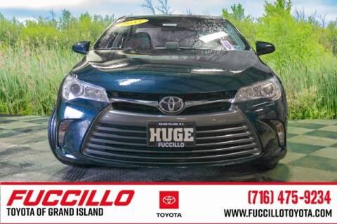 2017 Toyota Camry LE for sale at Fuccillo Toyota of Grand Island in Grand Island NY