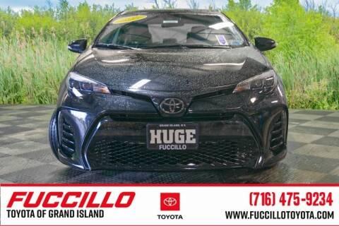2017 Toyota Corolla SE for sale at Fuccillo Toyota of Grand Island in Grand Island NY