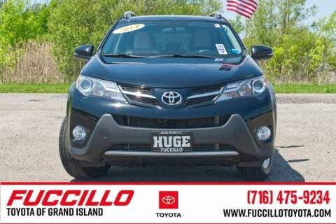 2014 Toyota RAV4 XLE for sale at Fuccillo Toyota of Grand Island in Grand Island NY