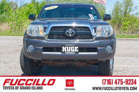 2011 Toyota Tacoma V6 for sale at Fuccillo Toyota of Grand Island in Grand Island NY