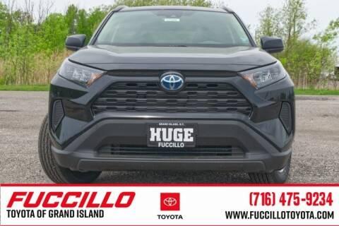 2017 Toyota RAV4 LE for sale at Fuccillo Toyota of Grand Island in Grand Island NY