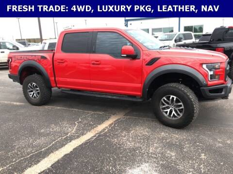 2018 Ford F-150 Raptor for sale at STANLEY FORD ANDREWS in Andrews TX