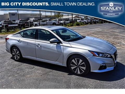 2019 Nissan Altima 2.5 SL for sale at STANLEY FORD ANDREWS in Andrews TX