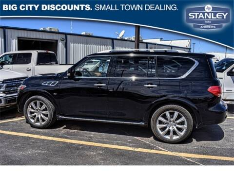 2014 Infiniti QX80 for sale at STANLEY FORD ANDREWS in Andrews TX