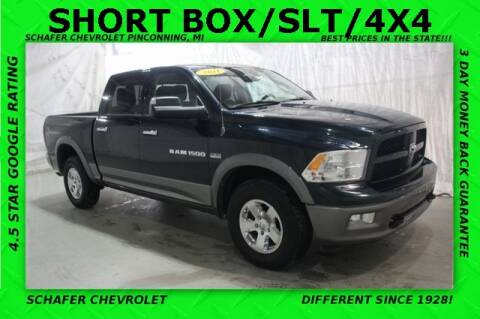 2011 RAM Ram Pickup 1500 Outdoorsman for sale at Schafer Chevrolet in Pinconning MI