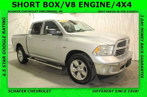 2013 RAM Ram Pickup 1500 SLT for sale at Schafer Chevrolet in Pinconning MI