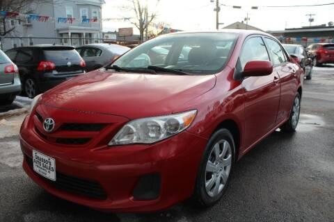 2012 Toyota Corolla for sale at Grasso's Auto Sales in Providence RI