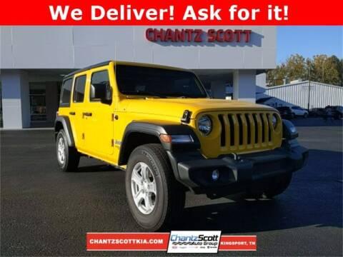 2019 Jeep Wrangler Unlimited for sale at Chantz Scott Kia in Kingsport TN