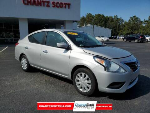 2019 Nissan Versa for sale at Chantz Scott Kia in Kingsport TN