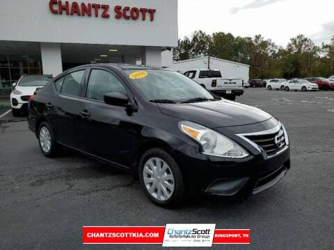 2018 Nissan Versa for sale at Chantz Scott Kia in Kingsport TN