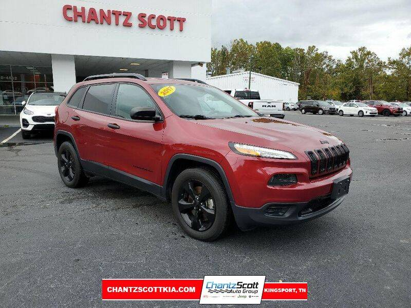 2017 Jeep Cherokee for sale at Chantz Scott Kia in Kingsport TN