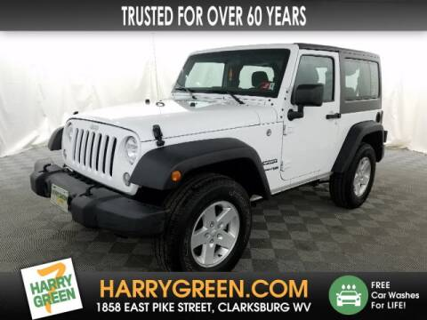 2018 Jeep Wrangler JK Sport S for sale at Harry Green Chevrolet & Nissan in Clarksburg WV