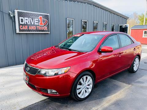 2011 Kia Forte SX for sale at Drive 1 Car & Truck in Springfield OH