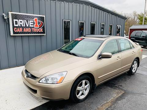 2003 Honda Accord EX w/Leather for sale at Drive 1 Car & Truck in Springfield OH